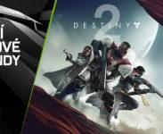 NVIDIA přidává hru Destiny 2 se dvěma DLC zdarma ke grafickým kartám GeForce GTX