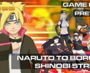 NARUTO TO BORUTO: SHINOBI STRIKER – GAME PRESS PLAY