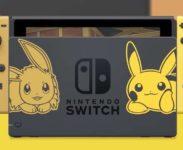 Nintendo představilo  bundly k Pokémon Let's Go Pikachu a Pokémon Let's Go Eevee