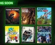 V únoru do Xbox Game Pass přibude Shadow of the Tomb Raider, Crackdown 3, Batman: Return to Arkham a další