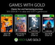 Odhaleny Games With Gold na červen 2019