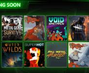 Metal Gear Survive, Dead by Daylight, The Banner Saga a další přibudou brzy do Xbox Game Pass