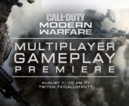 Call of Duty: Modern Warfare odhalí multiplayer v srpnu