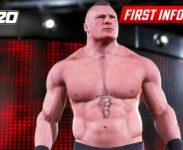 První obrázky z WWE 2K20 ukazují Brocka Lesnara and Bayley