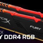 Test: HyperX Fury DDR4 RGB 3000MHz – Gamingové paměti sRGB osvětlením