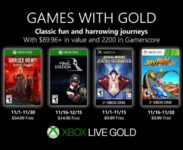 Microsoft odhalil listopadové Xbox Games with Gold