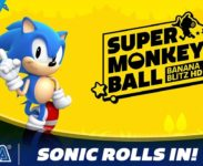 Sonic jako hratelná postava v Super Monkey Ball: Banana Blitz HD
