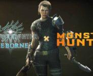 Mila Jovovich V časově omezeném eventu Monster Hunter World: Iceborne